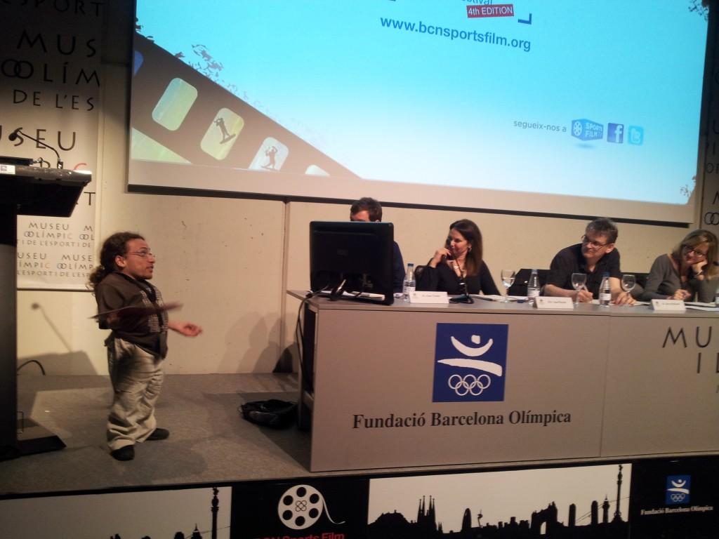 Presentació a Barcelona
