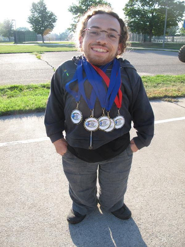 5 medalles