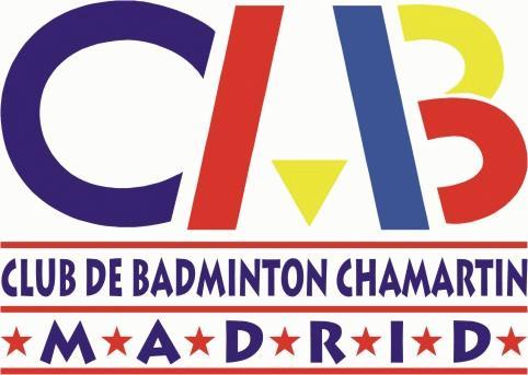 Logo Club Bádminton Chamartín
