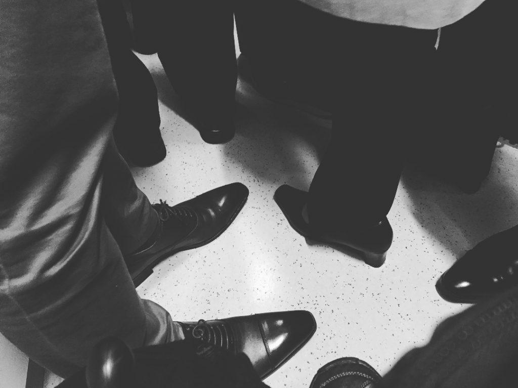Peus al metro