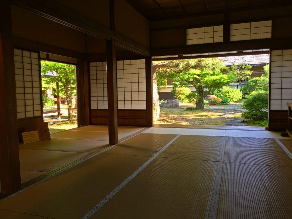 Interior japonès de tatami
