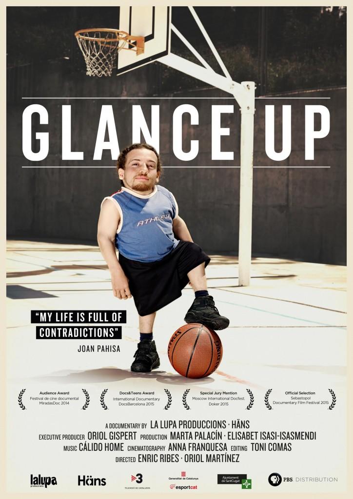 Pòster de Glance Up amb els premis i les nominacions més destacades
